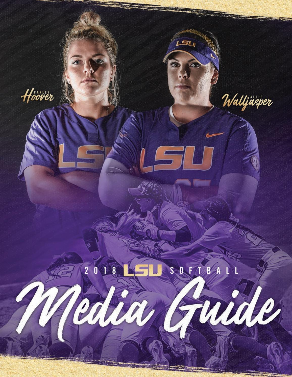 ff67177d545fb 2018 LSU Softball Media Guide by LSU Athletics - issuu