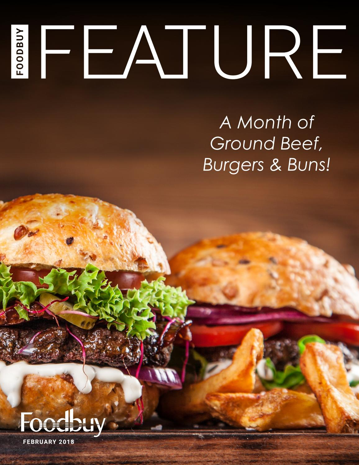 Foodbuy Feature: Ground Beef, Burgers and Buns by Foodbuy