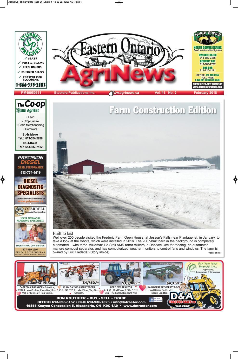 Agrinews February 2018 by Robin Morris issuu