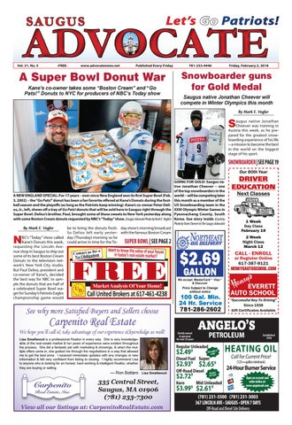 THE SAUGUS ADVOCATE – Friday dc2d53f454f75