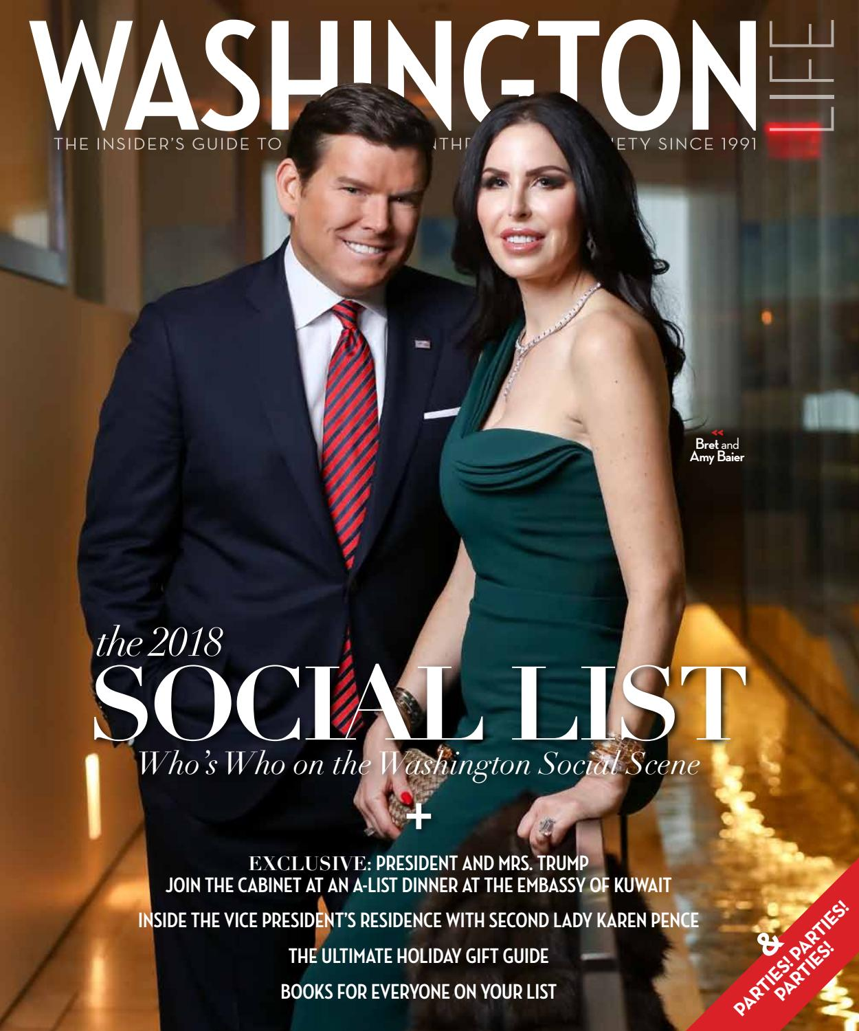 Washington Life Magazine - Holiday 2017 by Washington Life Magazine - issuu