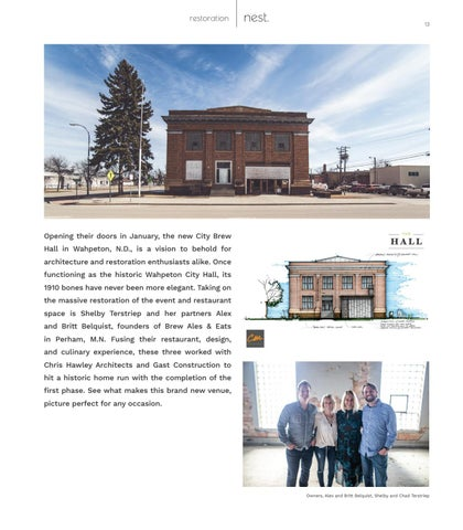 Page 13 of City Brew Hall: Historic Preservation in Downtown Wahpeton