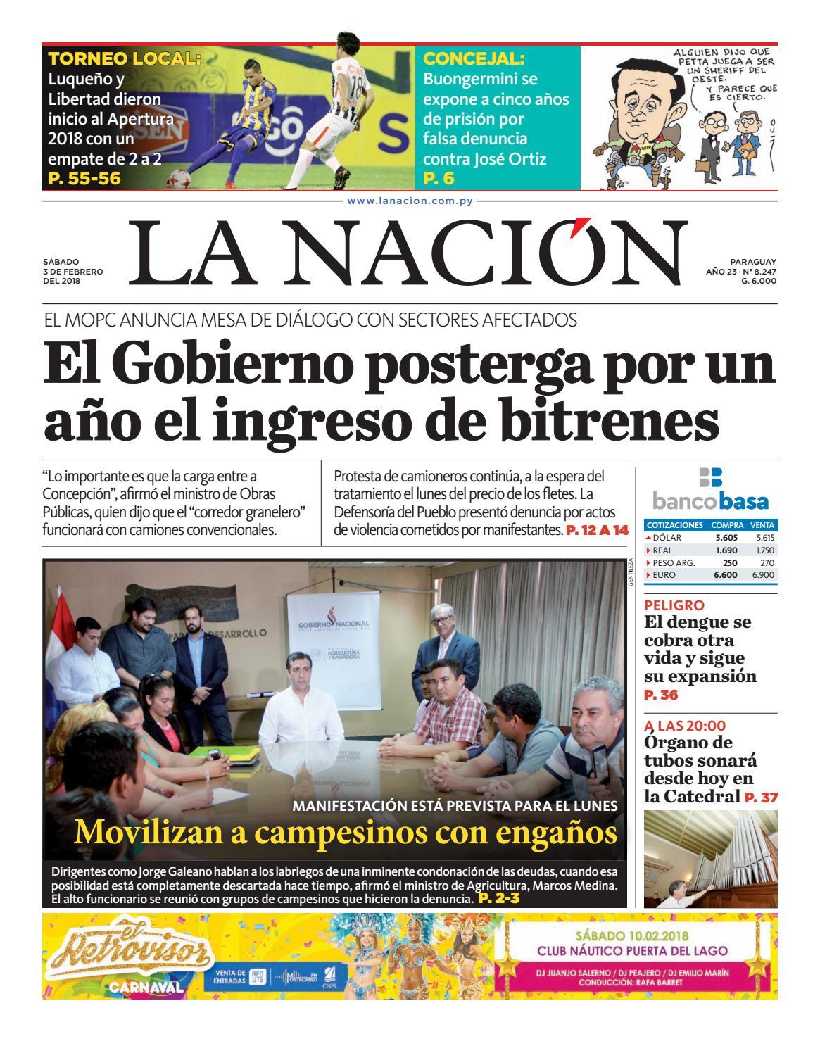 DIARIO LA NACIÓN - EDICIÓN 8.247 by La Nación - issuu