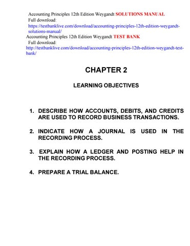 Accounting principles 12th edition weygandt solutions manual by httpstestbanklivedownloadaccounting principles 12th edition weygandtsolutions manual accounting principles 12th edition weygandt test bank fandeluxe Image collections