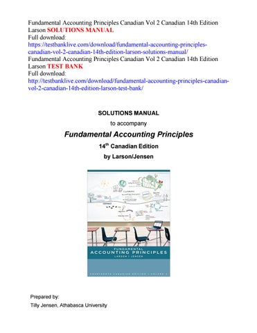 Fundamental Accounting Principles 19th Edition Pdf