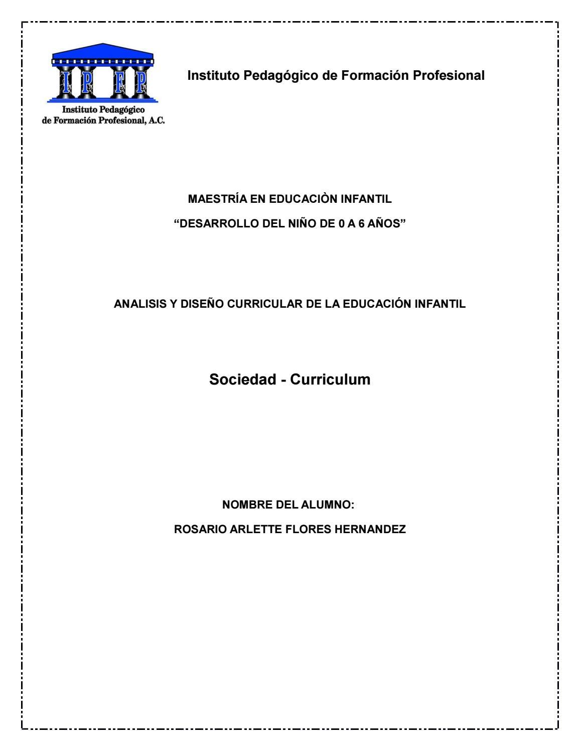 Sociedad - curriculum by arlettete7891 - issuu