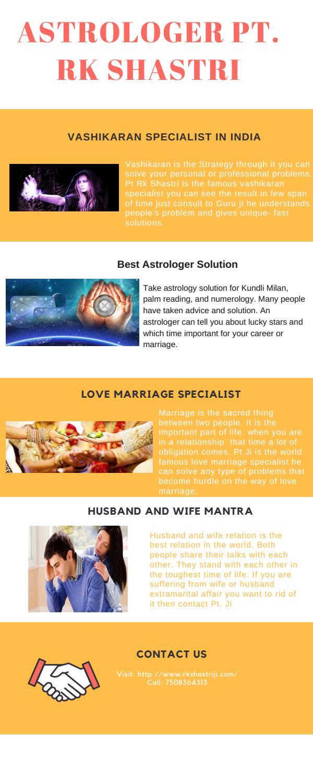 Vashikaran Specialist Astrologer - Rajesh Kumar Shastri Ji
