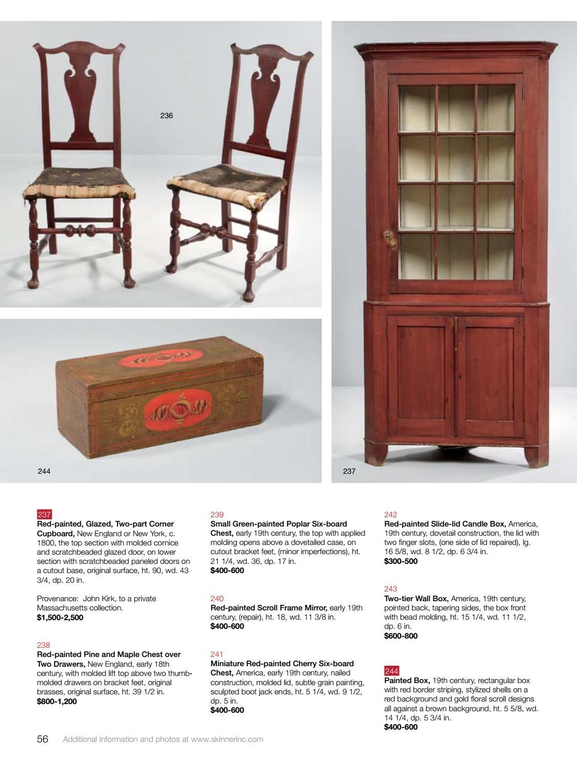 Terrific American Furniture Decorative Arts Auction 3080B By Download Free Architecture Designs Scobabritishbridgeorg