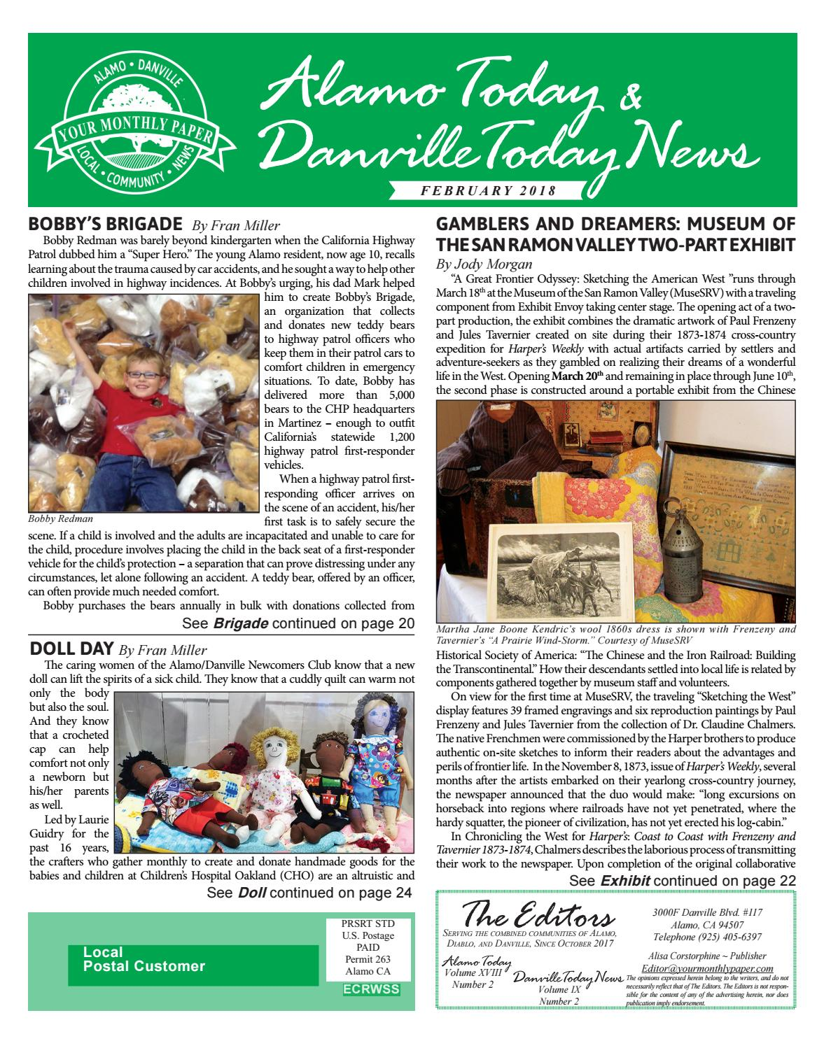 2018, February – Alamo Today & Danville Today News by The