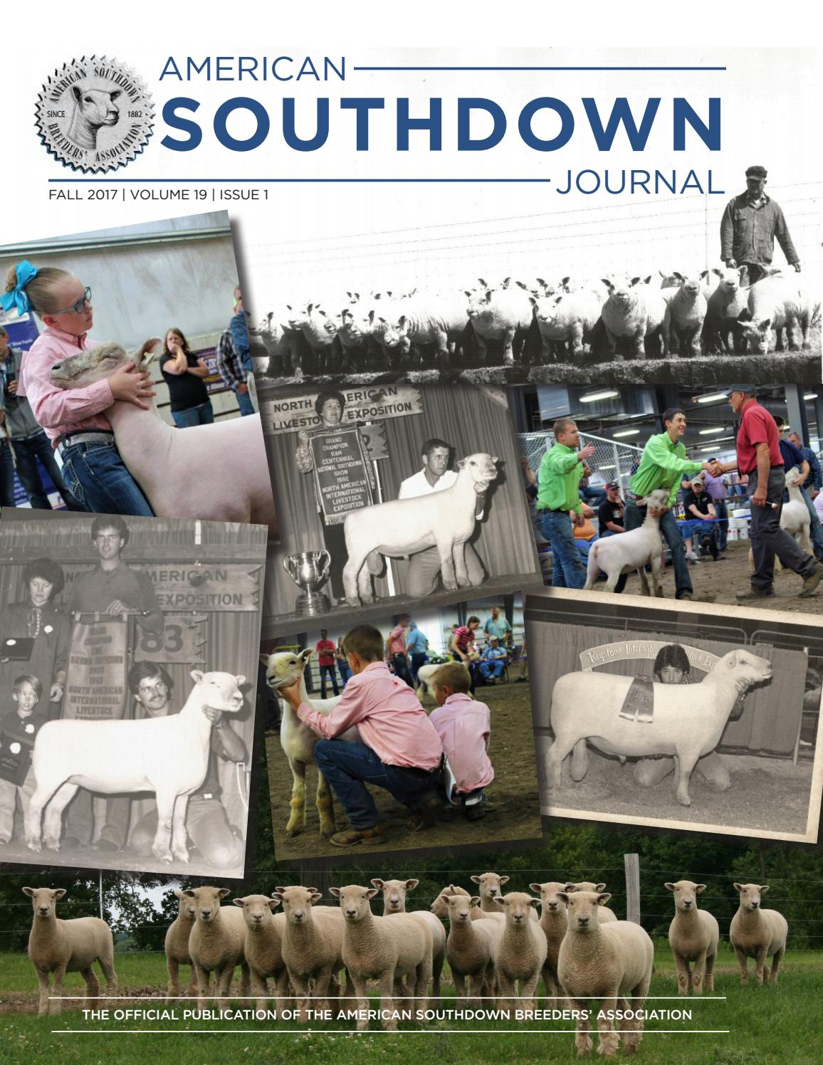 Fall 2017 American Southdown Journal by The American