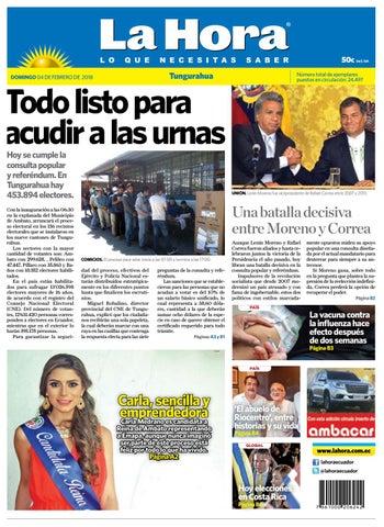 Tungurahua 04 de febrero de 2018 by Diario La Hora Ecuador - issuu 910cebe667b