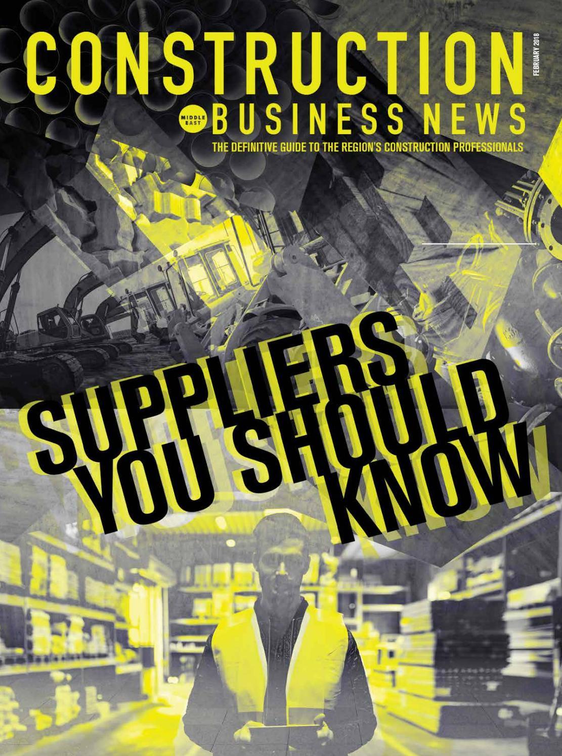 Construction Business News February 2018 By Bnc Publishing Issuu 8358000