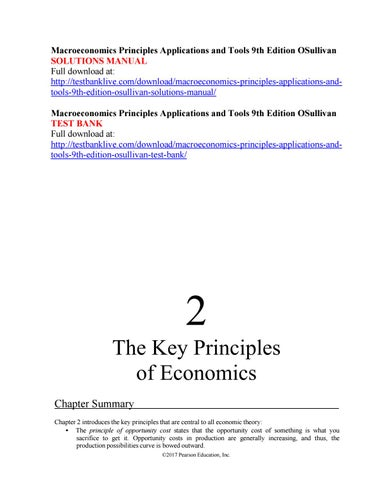 Macroeconomics teachers manual array macroeconomics principles applications and tools 9th edition rh issuu com fandeluxe