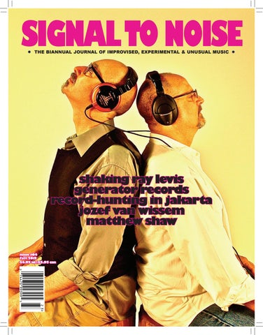 64fecd1f Signal to Noise #64 - winter 2013 by Signal to Noise - issuu