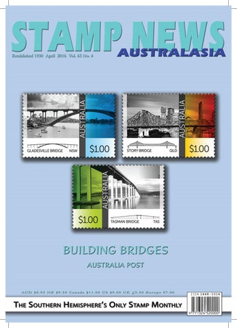 Stamp News Australasia April 2016 by Stamp News