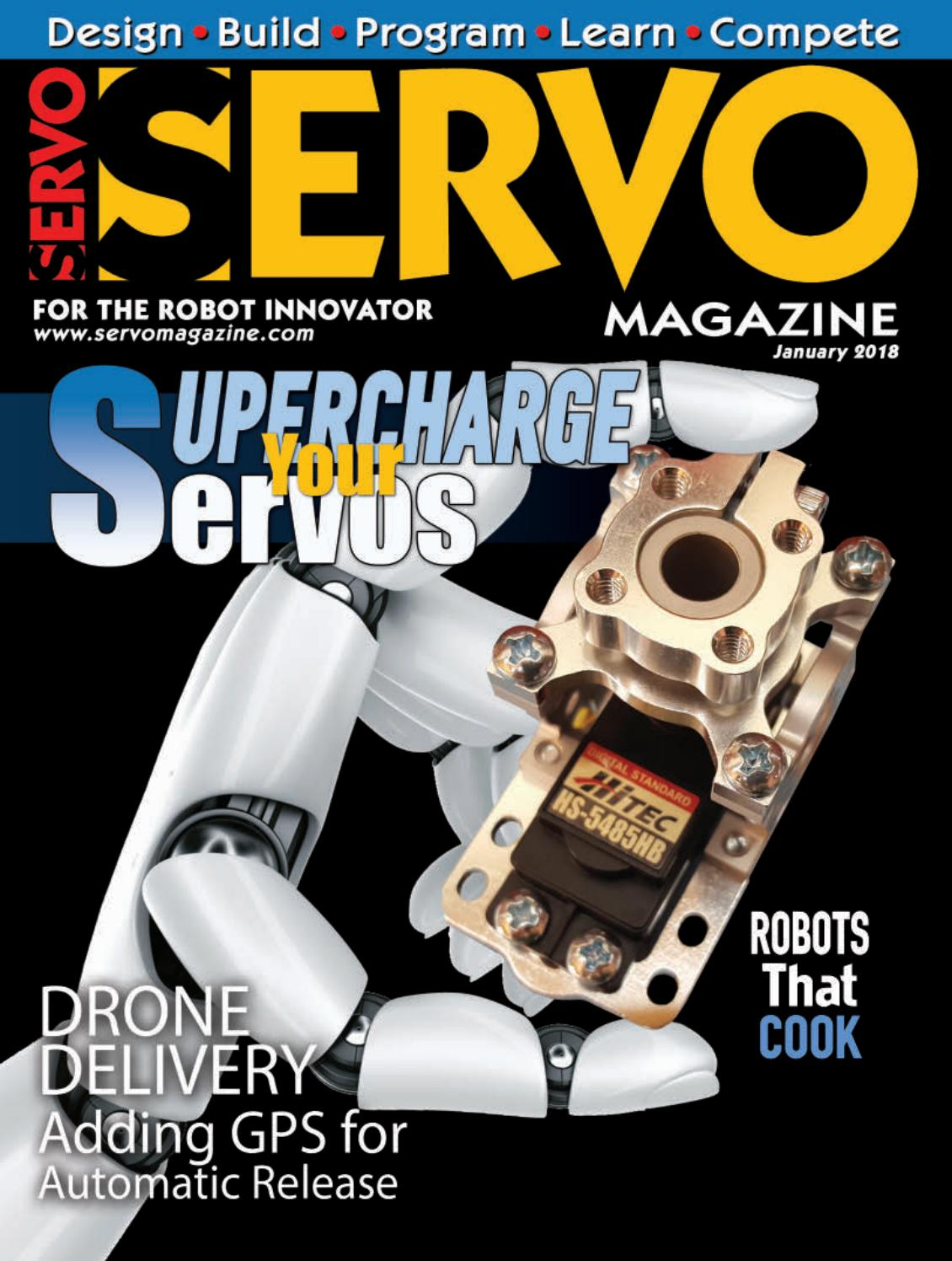Servo Magazine January 2018 By Adam Issuu Ir Receiver And Remote Learnparallaxcom