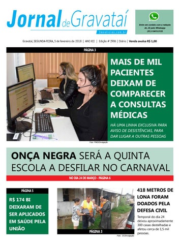 cacc16be2 Jornal de Gravataí. Segunda-feira