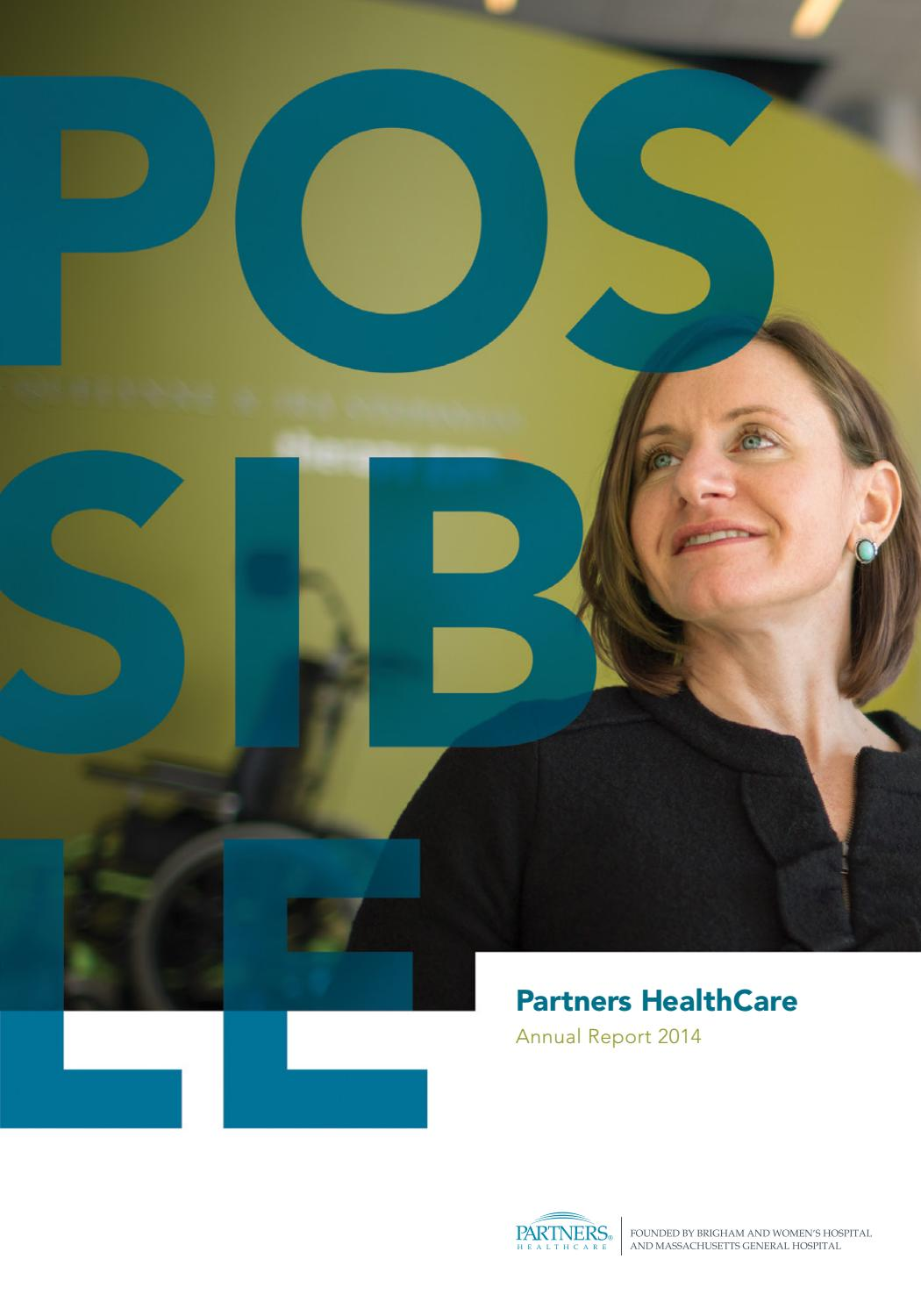 Partners Healthcare Annual Report 2014 by Jose Nieto - issuu