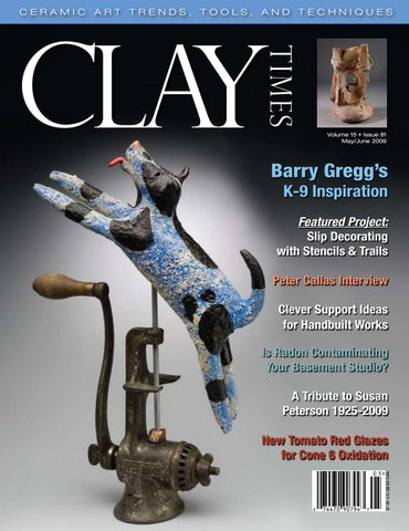 Clay Times Magazine Volume 15 • Issue 81 by claytimes - issuu