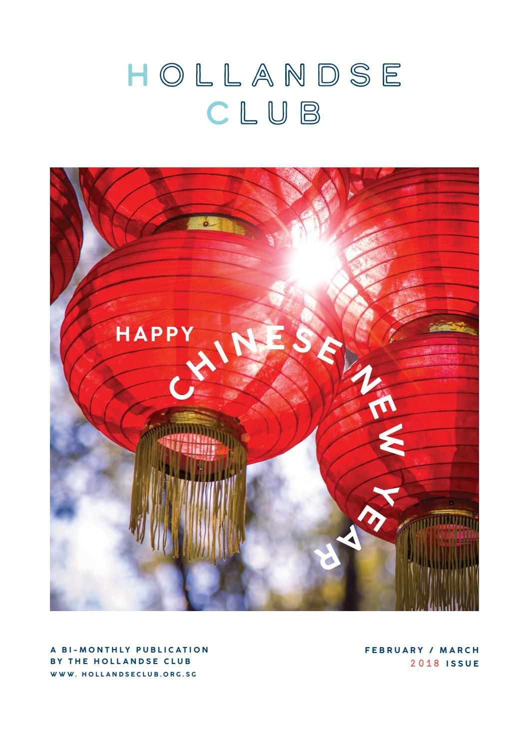 Hollandse Club The Magazine Feb March  By Hollandse Club