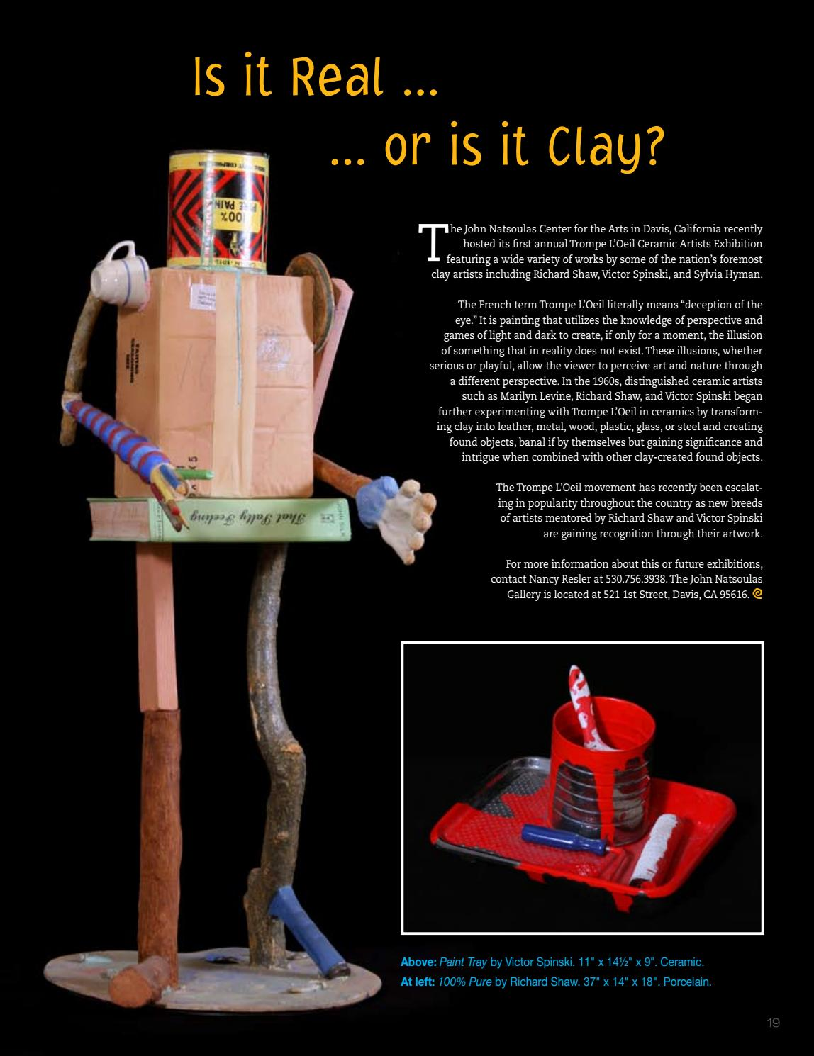 Clay Times Magazine Volume 14 • Issue 75 by claytimes - issuu