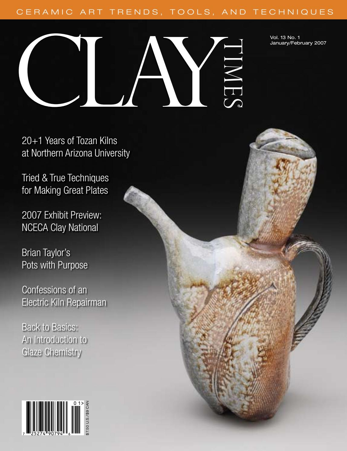 Clay Times Magazine Volume 13 Issue 68 By Claytimes Issuu Cord And Plug Safety For Electric Kilns