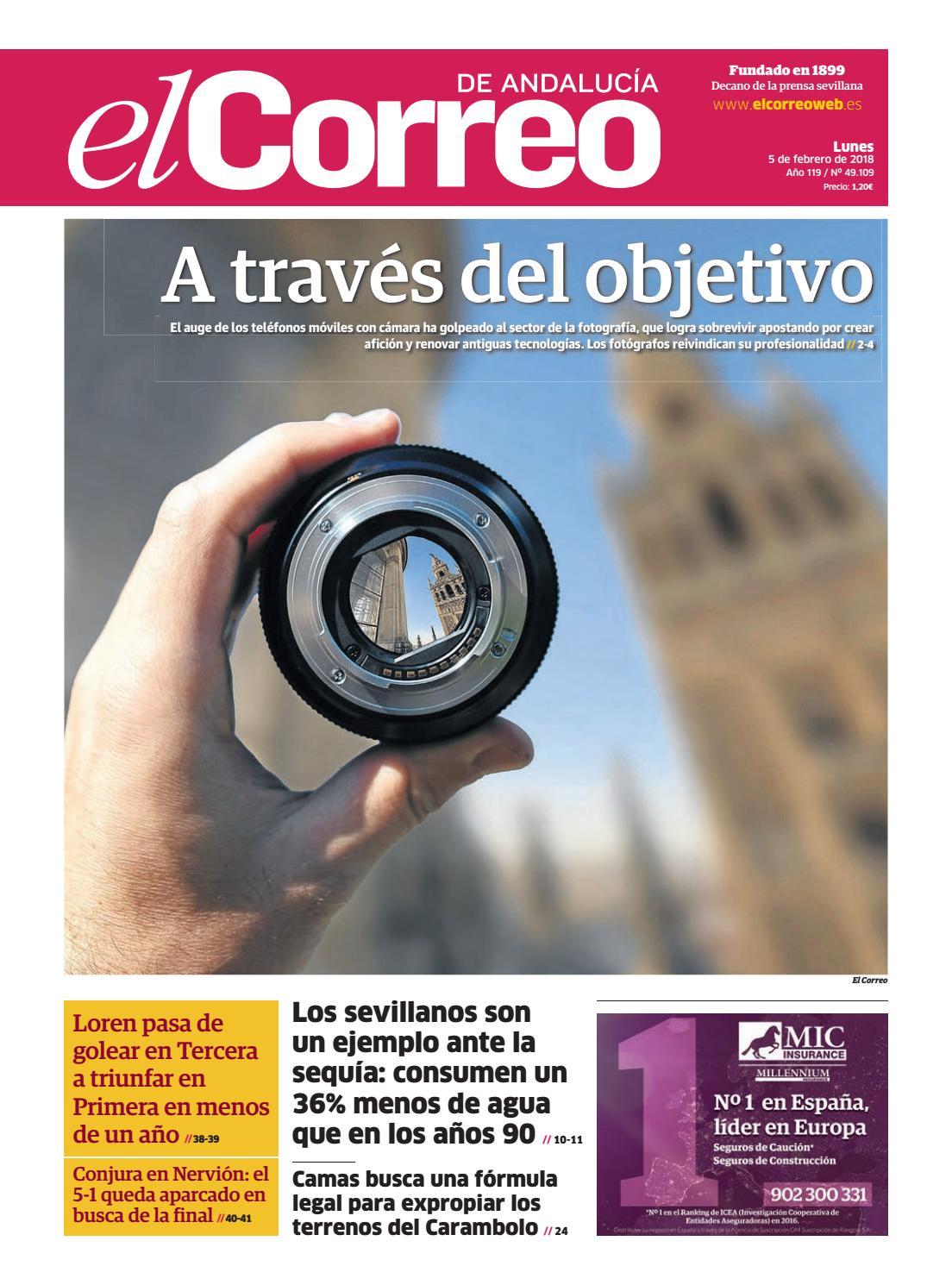 05.02.2018 El Correo de Andalucía by EL CORREO DE ANDALUCÍA S.L. - issuu