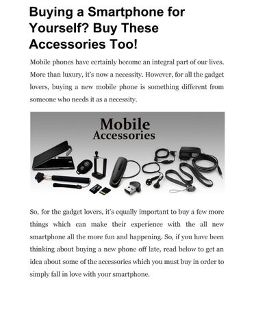 905a1256651 Mobile phones have certainly become an integral part of our lives. More  than luxury