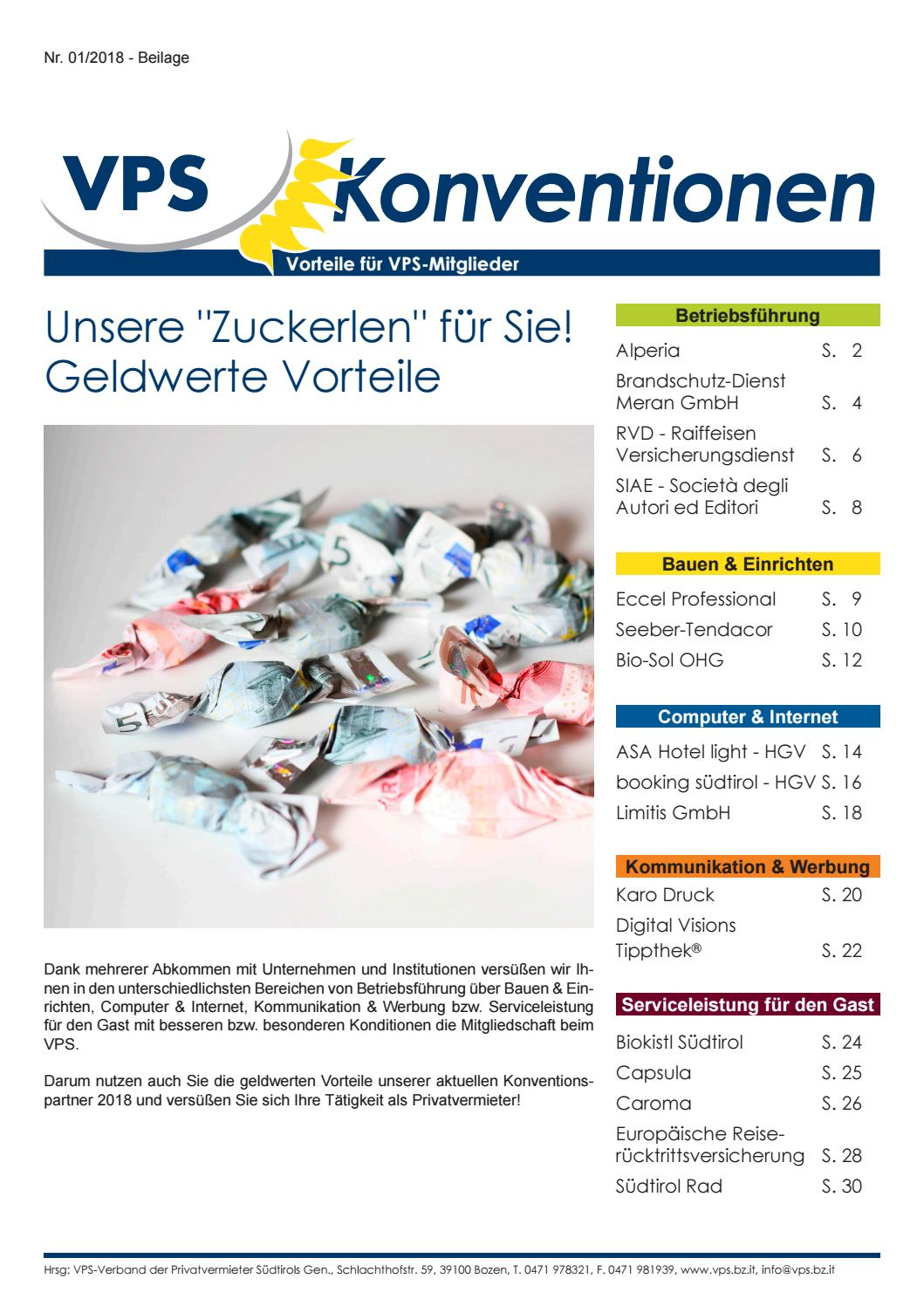Vps Konventionen 2018 By Vps Issuu
