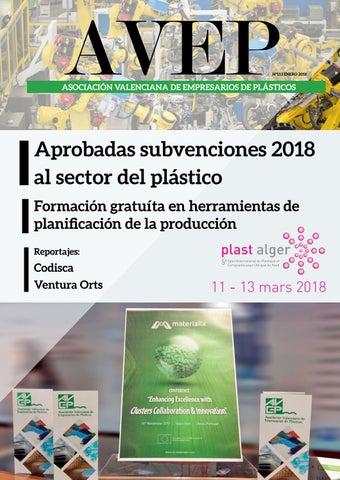 80cc4ce17 Page 1. AVEP. Nº113 ENERO 2018. ASOCIACIÓN VALENCIANA DE ...