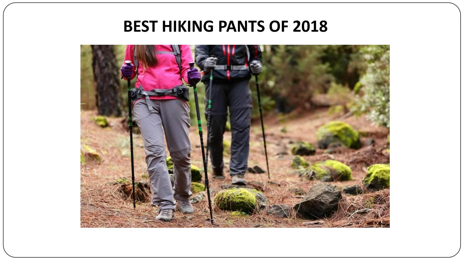 Best Hiking Pants Of 2018 By Outdoorsgearbox Issuu
