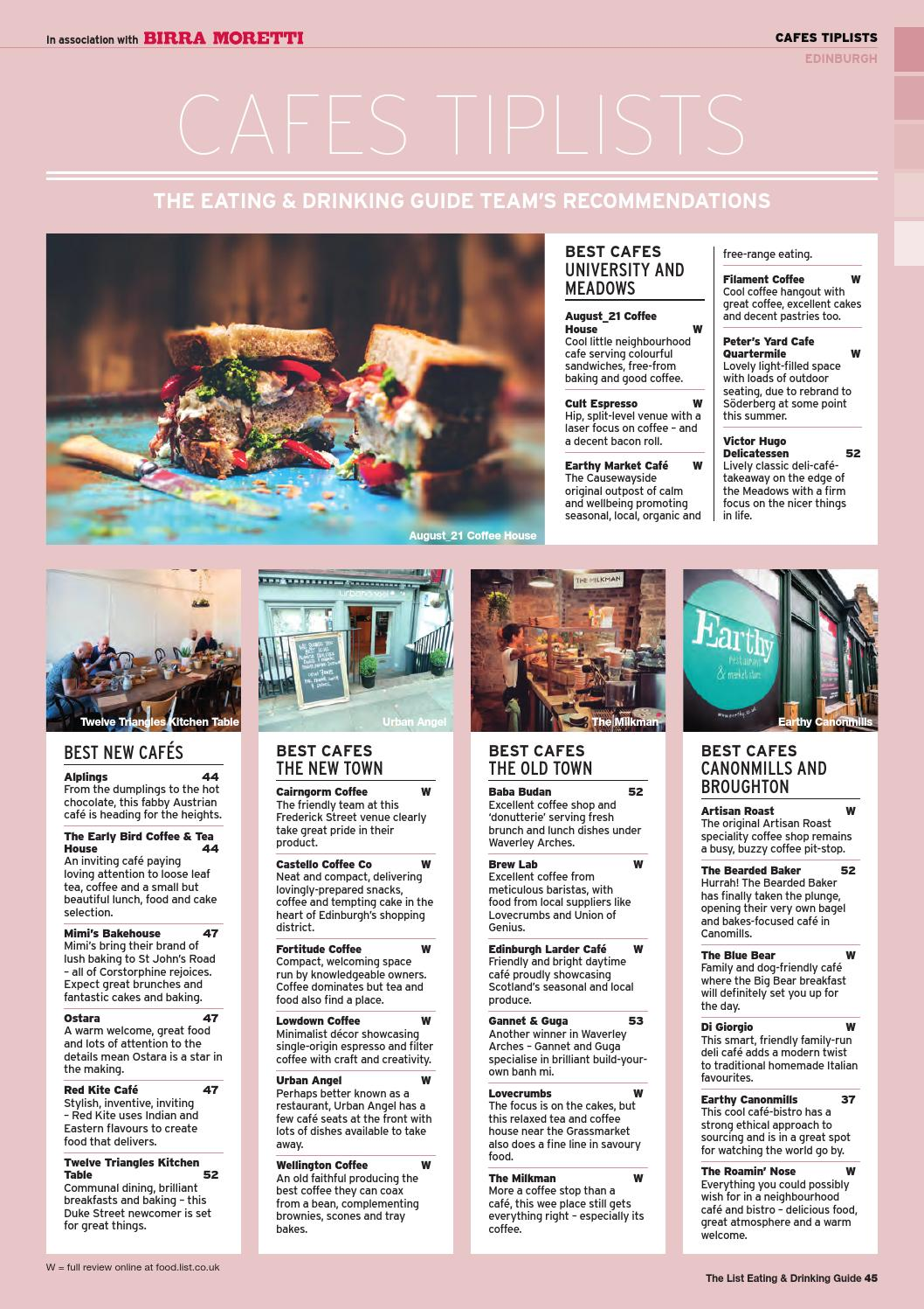 Eating Drinking Guide 2017 By The List Ltd Issuu