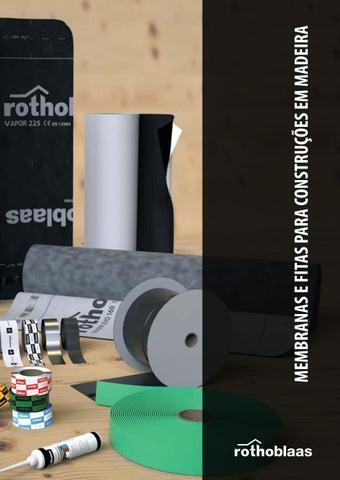 86caa21f1bf Membranas e fitas pt by Rothoblaas - issuu