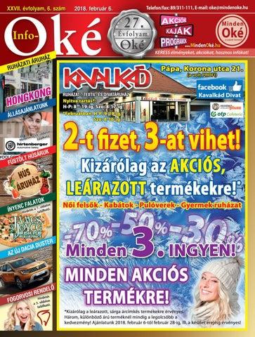 Info-Oké 6. szám by MindenOke - issuu 499002e52d