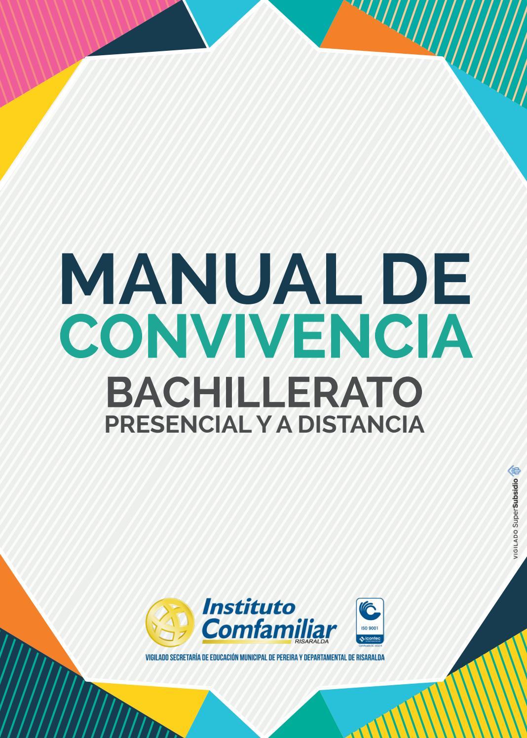 Manual de Convivencia by Comfamiliar Risaralda - issuu