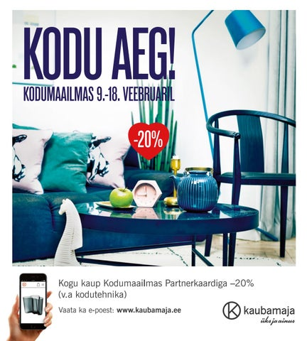 d43b012f503 Kodu Aeg! by Kaubamaja - issuu