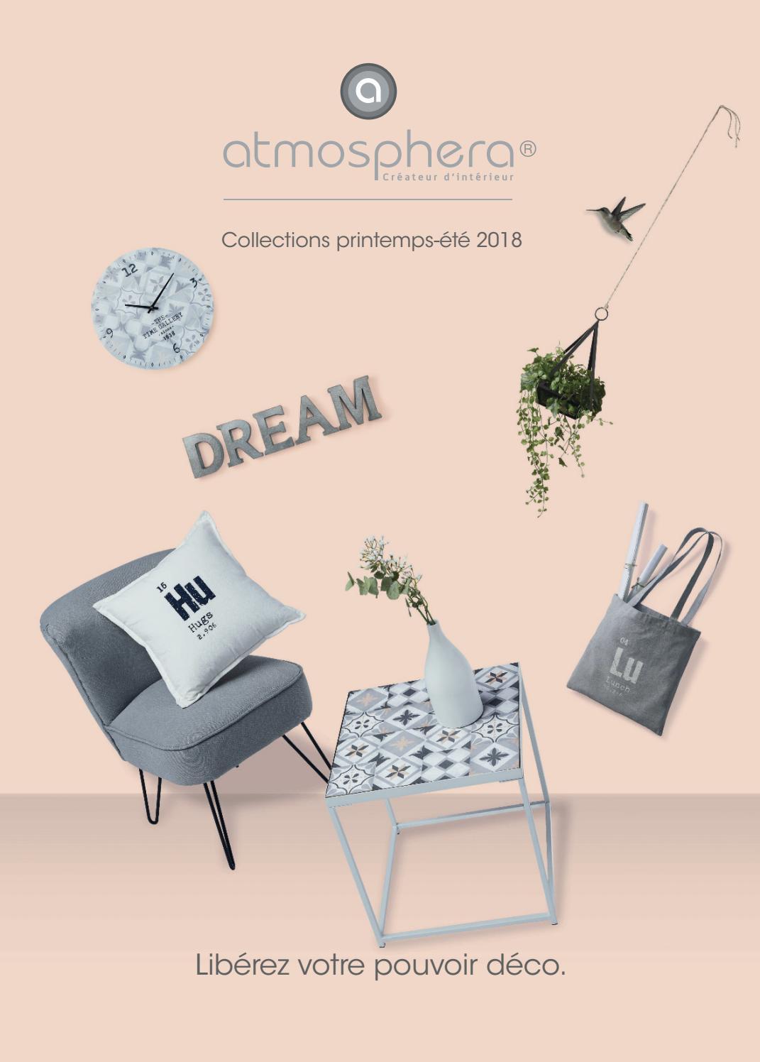 Atmosphera Lanterne /à Suspendre H42 Collection Spring Garden