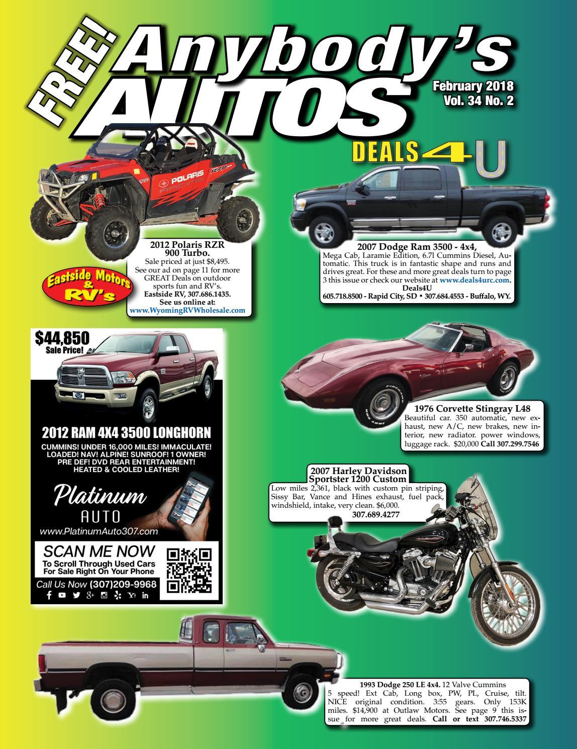 February 2018 By Anybodys Autos Issuu 1976 Chevy 4x4 3 4 Ton