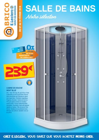 Guide Salle De Bain Brico Eleclerc By Chou Magazine Issuu