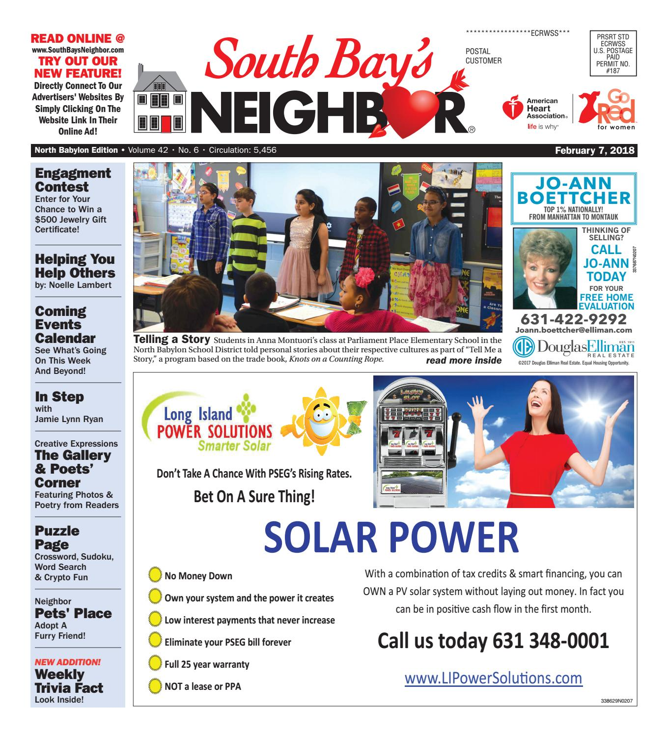 February 7th, 2018 North Babylon by South Bay's Neighbor Newspapers