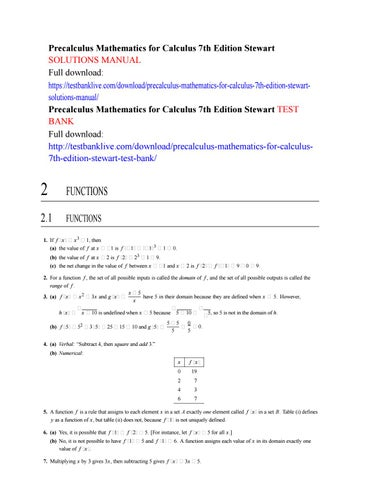 Pogil Calculus 1 A Guided Inquiry By John Wiley And Sons Issuu