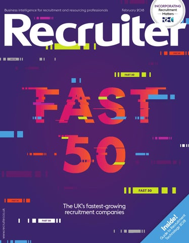 Recruiter - February 2018 by Redactive Media Group - issuu