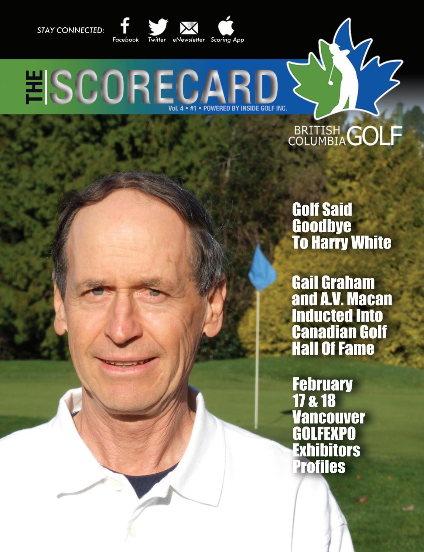 cf2f4dd7037 British Columbia Golf - The Scorecard Magazine Vol. 4 Issue 1 by ...
