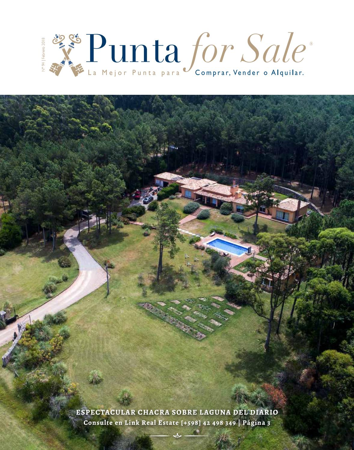 Revista de Real Estate Punta For Sale, edición #95 Febrero/Marzo 2018