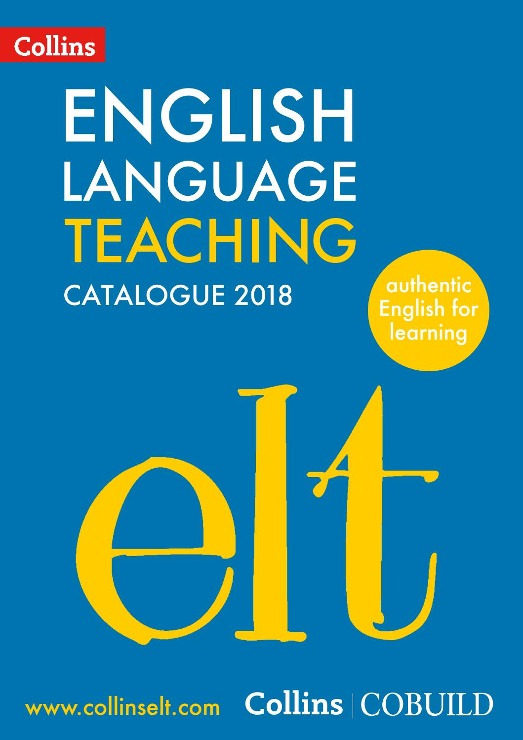 ELT Catalogue 2018 by Collins - issuu