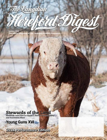 Canadian Hereford Digest January 2018 By