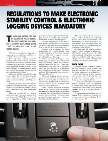 Page 30 of Mandatory Electronic Stability Control