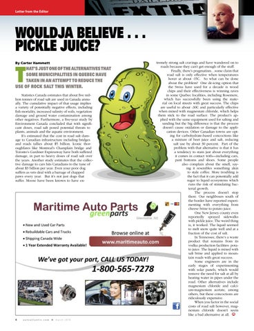Page 4 of Would believe . . . pickle juice?