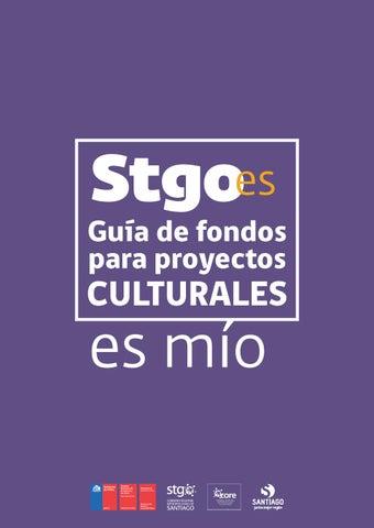 Gobierno Regional Metropolitano de Santiago Consejo Nacional de la Cultura  y las Artes Región Metropolitana Programa Santiago es Mío Ernesto Ottone  Ramírez ... 806658029e