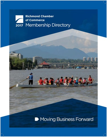 2017 Richmond Chamber of Commerce Directory by Richmond